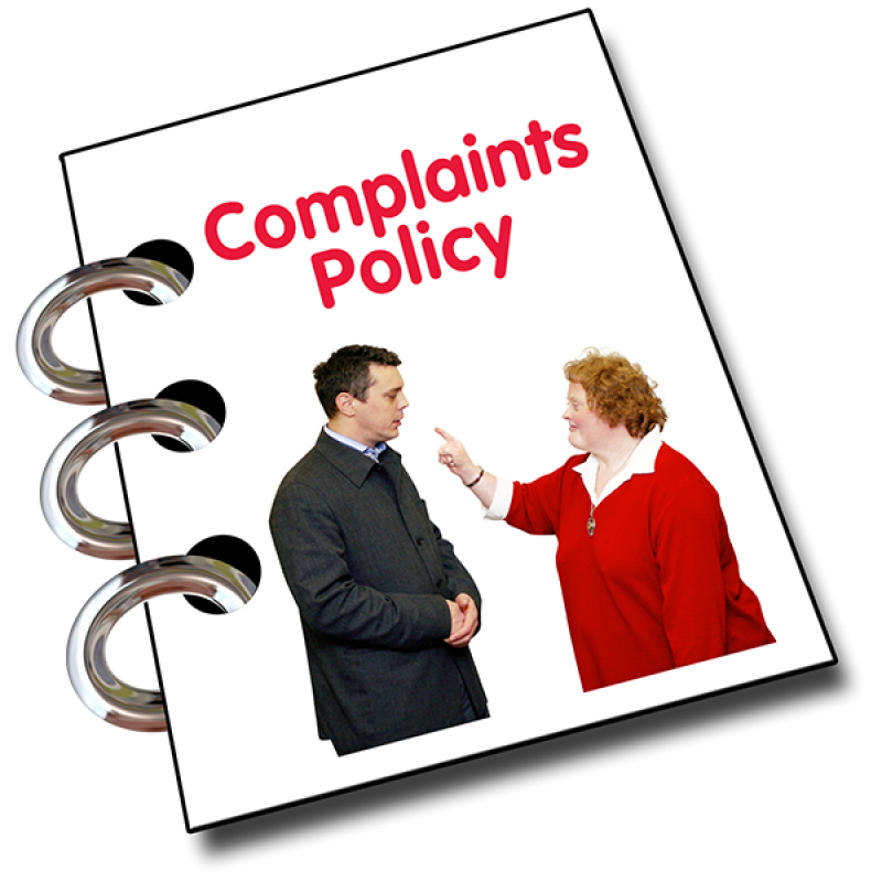 Complaints Policy 600x600