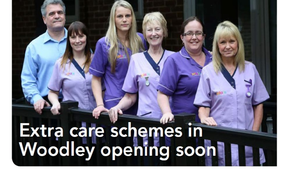 Extra care schemes opening soon